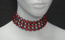 Marianna-harutunian-red-swarovski-crystal-black-metal-chocker-hbos-true-blood-profile