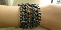 Pam's Jewels:Armor Jewelry Metal Chains Cuff