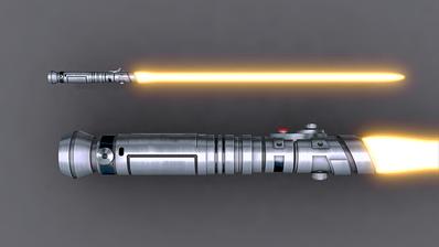 Sentinel Lightsaber 1 by broodofevil