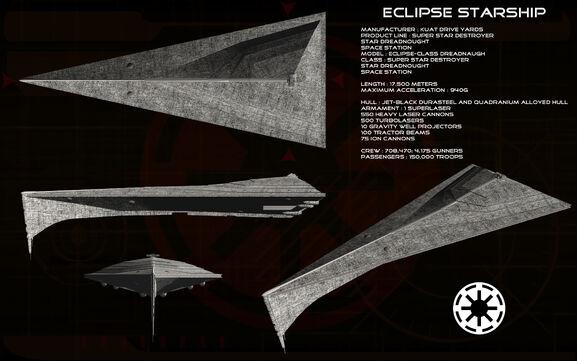 Eclipse starship