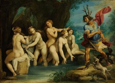 Giuseppe Cesari - Diana and Actaeon - Google Art Project