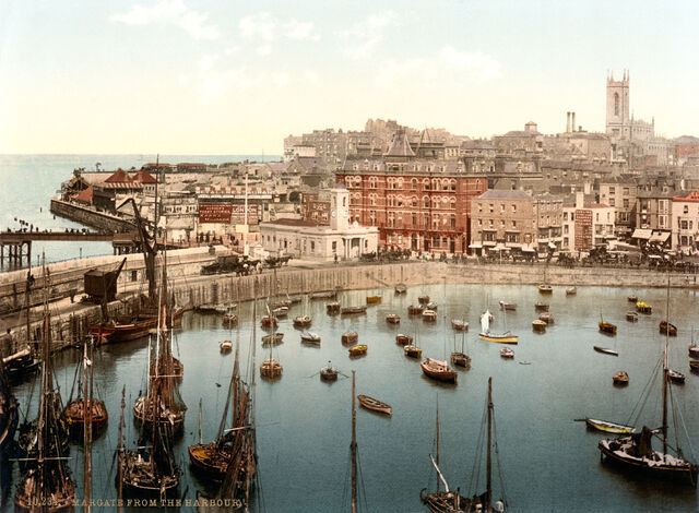 File:The harbour, Margate, Kent, England, ca. 1897 (1).jpg