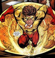 Kid-flash super