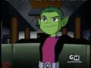 Beast Boy in Teen Titans