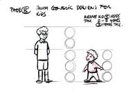 Kids 08 CGI Sketch Design