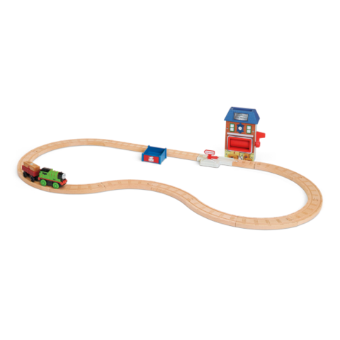 File:WoodenRailwayPercyAndTheMailDepotSet.png