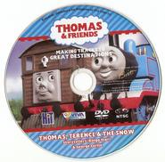 Thomas,TerenceandtheSnow(DVD)disc
