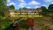 Peep!Peep!Hurray!ThreeCheersforThomastitlecard