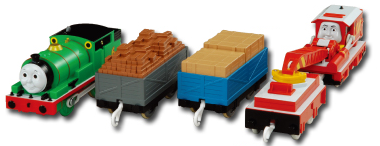 File:TOMYPercyandFreightCars.png