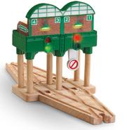 WoodenRailwayLights&SoundsMiniKnapfordStation