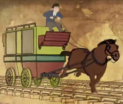 HorseandRailwayCart