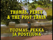 Thomas,PercyandthePostTrainFinnishTitleCard