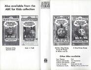 Spooks and Surprises Australian VHS Inner Cover 2