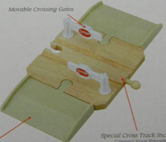 File:WoodenRailwayHighwayCrossing.jpg