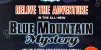 Blue Mountain Mystery: Sticker Activity Book