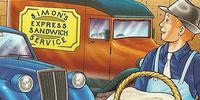Simon's Express Sandwich Service Van