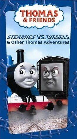 File:Steamiesvs.DieselsandotherThomasAdventuresVHS.jpg