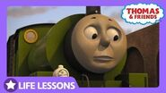 Percy Bumped the Livestock Wagon Life Lesson Taking Your Time Thomas & Friends UK