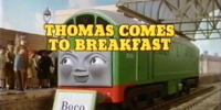 Thomas Comes to Breakfast/Gallery