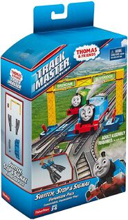 TrackMaster(Revolution)Switch,StopandSignalExpansionPackbox