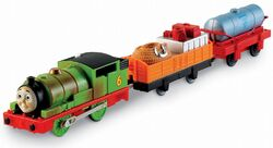TrackMaster(Fisher-Price)PercyandtheSearchCars
