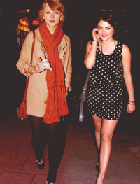 Lucy Hale Taylor Swift