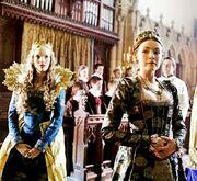 Sarah-Bolger-as-Mary-Tudor-and-Tamzin-Merchant-as-Catherine-Howard-in-The-Tudors-2007-2010.