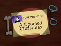 A Doomed Christmas Title Card