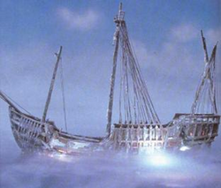 Ghostly Galleon