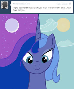 Ask princess luna