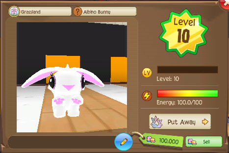 File:Profile view of a level 10 Albino Bunny.png