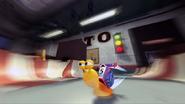 Turbo speeds in Turbo Super Stunt Squad