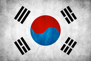 File:South Korea Grunge Flag by think0.jpg