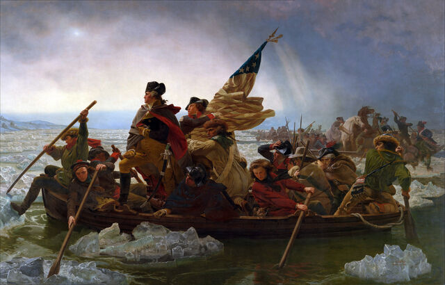 File:George Washington crossing the Delaware River.jpg