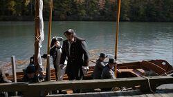 Robert Rogers arrives in Brooklyn Harbor