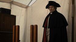 George Washington greets Benedict Arnold