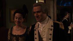 George Washington with Martha Washington