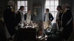 George Washington informs his generals of his plan