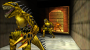 Turok 2 Seeds of Evil Enemies - Dinosoid Raptoid (29)
