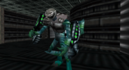 Turok Dinosaur Hunter - enemies -Alien Infantry - 0015