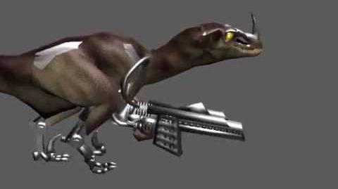 Turok Mech Raptor