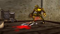 Turok 2 Seeds of Evil Enemies - Raptoid - Dinosoid (46)