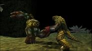 Turok Dinosaur Hunter Enemies - Purr-Linn War Club (9)