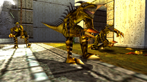 Turok 2 Seeds of Evil Enemies - Raptoid - Dinosoid (15)