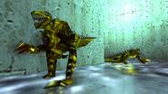 Turok 2 Seeds of Evil Enemies - Raptoid - Dinosoid (10)