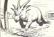 Turok Son of Stone Styracosaurus 003