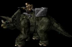 Triceratop - Dinosaur Hunter