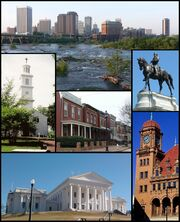 Collage of Landmarks in Richmond, Virginia v 1-1-