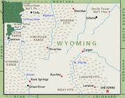 Wyomingmap
