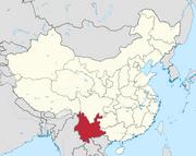 Yunnan in China